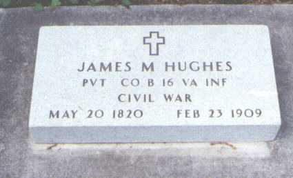 HUGHES, JAMES M. - Larimer County, Colorado | JAMES M. HUGHES - Colorado Gravestone Photos