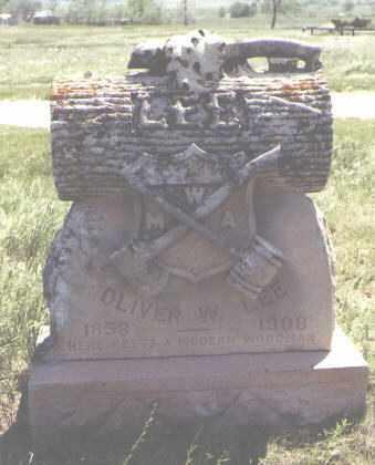 LEE, OLIVER W. - Larimer County, Colorado   OLIVER W. LEE - Colorado Gravestone Photos