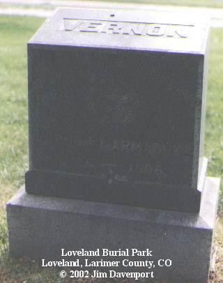 MARMADUKE, VERNON - Larimer County, Colorado   VERNON MARMADUKE - Colorado Gravestone Photos