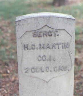 MARTIN, H. C. - Larimer County, Colorado | H. C. MARTIN - Colorado Gravestone Photos