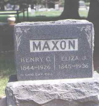 MAXON, HENRY C. - Larimer County, Colorado | HENRY C. MAXON - Colorado Gravestone Photos