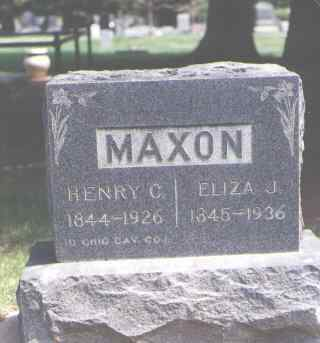 MAXON, HENRY C. - Larimer County, Colorado | HENRY C. MAXON - Colorado Gravestone Photos