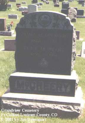 MCCREERY, ADA L. - Larimer County, Colorado | ADA L. MCCREERY - Colorado Gravestone Photos