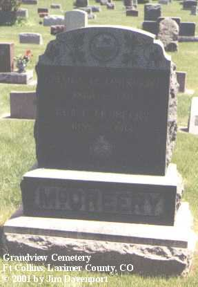 MCCREERY, ADA L. - Larimer County, Colorado | ADA L. MCCREERY - Colorado Gravestone Photos