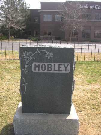 MOBLEY, FAMILY - Larimer County, Colorado | FAMILY MOBLEY - Colorado Gravestone Photos