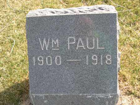 MOBLEY, WM. PAUL - Larimer County, Colorado | WM. PAUL MOBLEY - Colorado Gravestone Photos