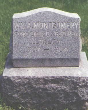 MONTGOMERY, WM. A. - Larimer County, Colorado | WM. A. MONTGOMERY - Colorado Gravestone Photos