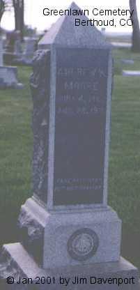 MOORE, ANDREW W. - Larimer County, Colorado | ANDREW W. MOORE - Colorado Gravestone Photos