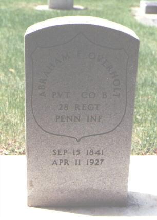 OVERHOLT, ABRAHAM F. - Larimer County, Colorado | ABRAHAM F. OVERHOLT - Colorado Gravestone Photos