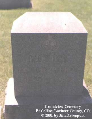 PIERCE, MAGGIE - Larimer County, Colorado | MAGGIE PIERCE - Colorado Gravestone Photos