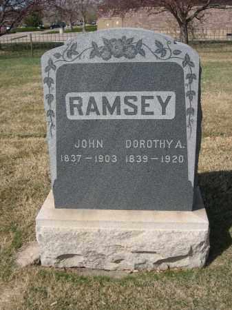 RAMSEY, JOHN - Larimer County, Colorado | JOHN RAMSEY - Colorado Gravestone Photos