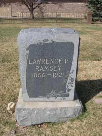 RAMSEY, LAWRENCE P. - Larimer County, Colorado | LAWRENCE P. RAMSEY - Colorado Gravestone Photos