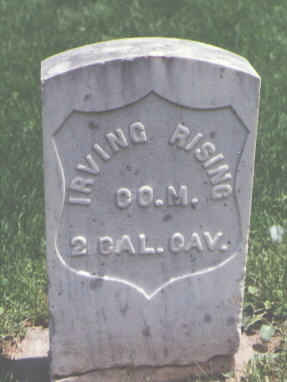 RISING, IRVING - Larimer County, Colorado | IRVING RISING - Colorado Gravestone Photos