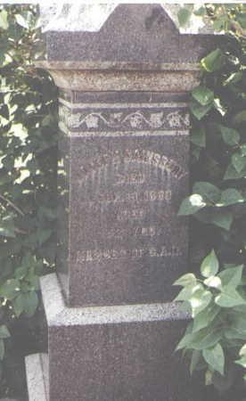 SAINSBURY, JOSEPH - Larimer County, Colorado | JOSEPH SAINSBURY - Colorado Gravestone Photos