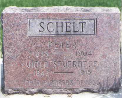 SCHELT, VIOLA SEVERANCE - Larimer County, Colorado | VIOLA SEVERANCE SCHELT - Colorado Gravestone Photos