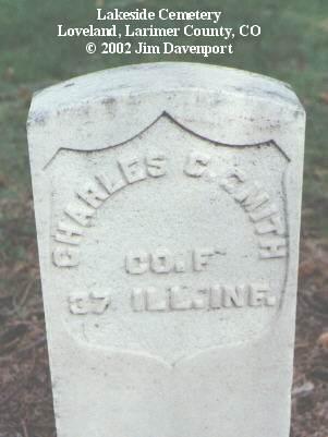 SMITH, CHARLES C. - Larimer County, Colorado | CHARLES C. SMITH - Colorado Gravestone Photos