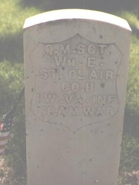ST. CLAIR, WM. E. - Larimer County, Colorado   WM. E. ST. CLAIR - Colorado Gravestone Photos