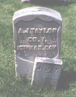 TAYLOR, A. J. - Larimer County, Colorado | A. J. TAYLOR - Colorado Gravestone Photos