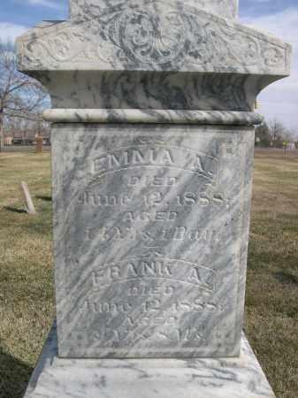 UNKNOWN, FRANK A. - Larimer County, Colorado   FRANK A. UNKNOWN - Colorado Gravestone Photos