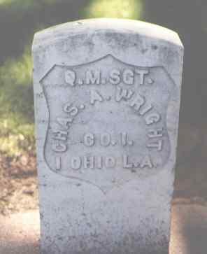 WRIGHT, CHAS. A. - Larimer County, Colorado | CHAS. A. WRIGHT - Colorado Gravestone Photos