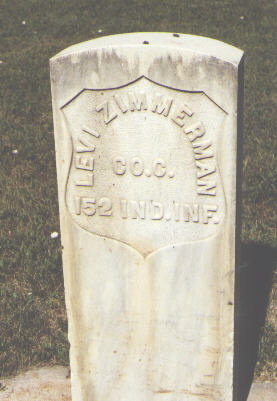 ZIMMERMAN, LEVI - Larimer County, Colorado | LEVI ZIMMERMAN - Colorado Gravestone Photos