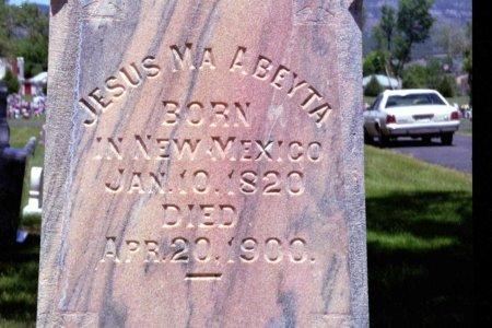 ABEYTA, JESUS MA - Las Animas County, Colorado   JESUS MA ABEYTA - Colorado Gravestone Photos