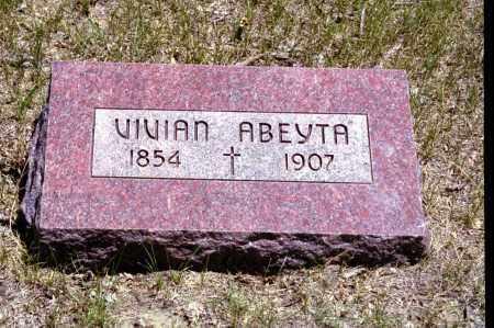 ABEYTA, VIVIAN - Las Animas County, Colorado   VIVIAN ABEYTA - Colorado Gravestone Photos