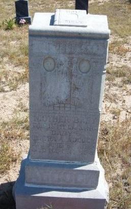 ADCOCK, BERTHA A - Las Animas County, Colorado | BERTHA A ADCOCK - Colorado Gravestone Photos