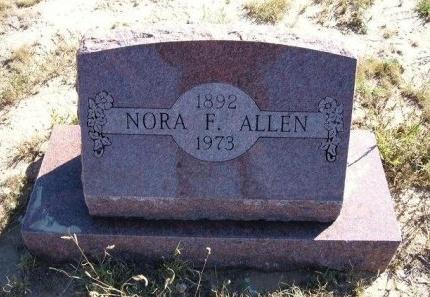 WRIGHT ALLEN, NORA FERN  - Las Animas County, Colorado | NORA FERN  WRIGHT ALLEN - Colorado Gravestone Photos