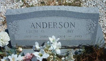 ANDERSON, EDITH O - Las Animas County, Colorado | EDITH O ANDERSON - Colorado Gravestone Photos