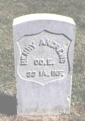 ANDREWS, HENRY - Las Animas County, Colorado | HENRY ANDREWS - Colorado Gravestone Photos