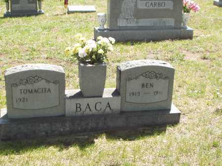 BACA, BEN (BENJAMIN) - Las Animas County, Colorado | BEN (BENJAMIN) BACA - Colorado Gravestone Photos
