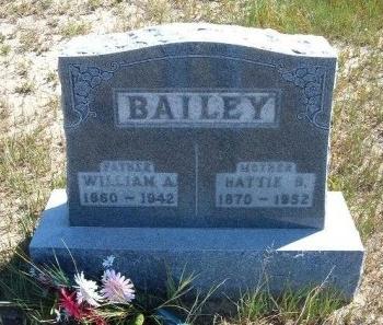 BAILEY, WILLIAM ALPHEUS - Las Animas County, Colorado | WILLIAM ALPHEUS BAILEY - Colorado Gravestone Photos