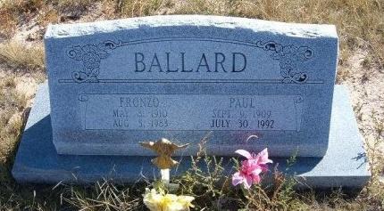BALLARD, PAUL CYRUS - Las Animas County, Colorado   PAUL CYRUS BALLARD - Colorado Gravestone Photos
