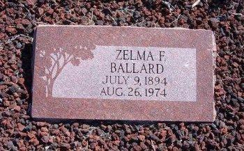BALLARD, ZELMA - Las Animas County, Colorado | ZELMA BALLARD - Colorado Gravestone Photos
