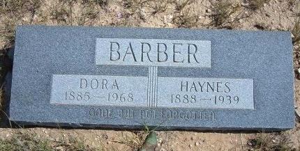 BARBER, DORA - Las Animas County, Colorado | DORA BARBER - Colorado Gravestone Photos