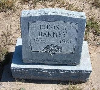 BARNEY, ELDON J - Las Animas County, Colorado | ELDON J BARNEY - Colorado Gravestone Photos