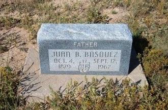 BASQUEZ, JUAN B - Las Animas County, Colorado   JUAN B BASQUEZ - Colorado Gravestone Photos