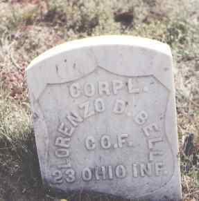 BELL, LORENZO D. - Las Animas County, Colorado | LORENZO D. BELL - Colorado Gravestone Photos