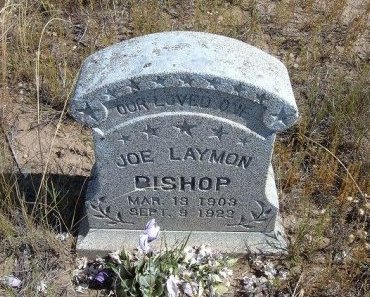 BISHOP, JOE LAYMON - Las Animas County, Colorado | JOE LAYMON BISHOP - Colorado Gravestone Photos