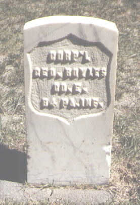 BOYLES, GEO. - Las Animas County, Colorado | GEO. BOYLES - Colorado Gravestone Photos
