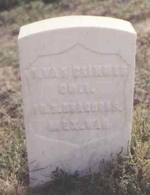 BRIMMER, I. VAN - Las Animas County, Colorado | I. VAN BRIMMER - Colorado Gravestone Photos