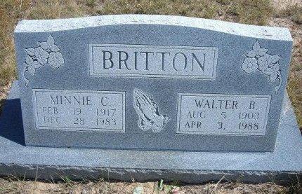 BRITTON, MINNIE CLAIRE - Las Animas County, Colorado | MINNIE CLAIRE BRITTON - Colorado Gravestone Photos