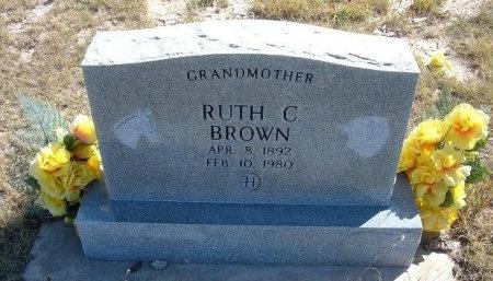 BROWN, RUTH C - Las Animas County, Colorado | RUTH C BROWN - Colorado Gravestone Photos