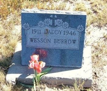 BURROW, WESSON - Las Animas County, Colorado   WESSON BURROW - Colorado Gravestone Photos