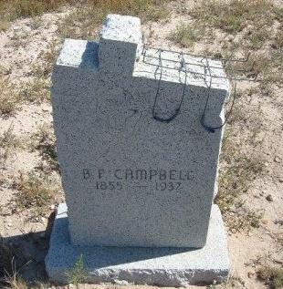 CAMPBELL, B F - Las Animas County, Colorado   B F CAMPBELL - Colorado Gravestone Photos