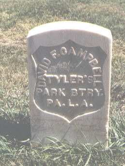 CAMPBELL, DAVID F. - Las Animas County, Colorado | DAVID F. CAMPBELL - Colorado Gravestone Photos