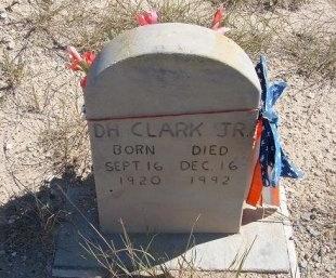 CLARK, JR, D H - Las Animas County, Colorado | D H CLARK, JR - Colorado Gravestone Photos