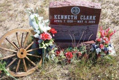 CLARK, KENNETH - Las Animas County, Colorado | KENNETH CLARK - Colorado Gravestone Photos
