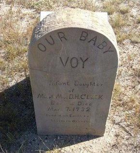 CLARK, VOY - Las Animas County, Colorado | VOY CLARK - Colorado Gravestone Photos